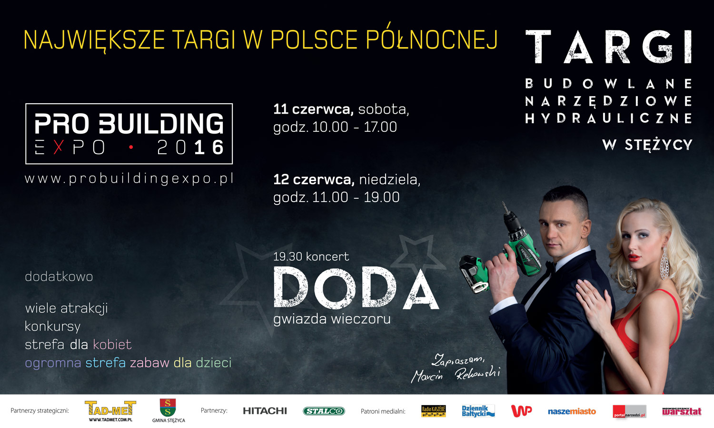 Pro Building Expo 2016. Źródło: www.gminastezyca.pl